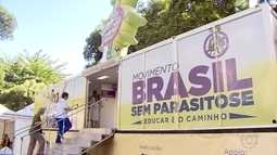 Ação contra parasitoses é realizada no Parque Municipal de Belo Horizonte