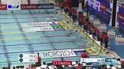 Felipe Lima conquista a prata nos 100m peito na Copa do Mundo de Natação