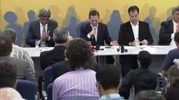 João Dória apresenta parte do secretariado do próximo governo na cidade de SP