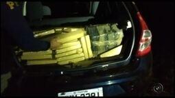 Homem é preso com maconha em porta-malas de veículo na rodovia BR-153