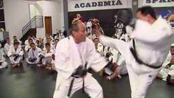 Conheça a arte marcial de defesa pessoal Krav magá