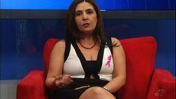 Sobre câncer de mama, CETV entrevista a mastologista Sheila Ulisses