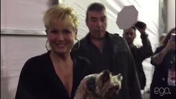 Xuxa e Sasha causam tumulto no SPFW