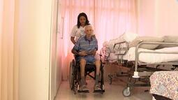 Amor de neta pelo avô se transforma em exemplo de solidariedade