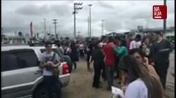 Estudantes enviam informações sobre o Enem no app Na Rua GloboNews