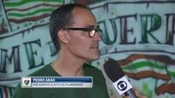 "Eleito presidente do Fluminense, Pedro Abad confirma ""conversas"" com Roger Machado"