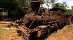 Famoso Trem das 11 sofre com ação do tempo e falta de restauração