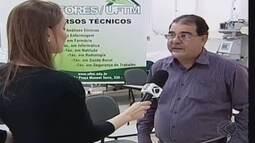 Cefores tem processo seletivo para cursos técnicos em Uberaba