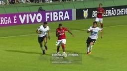 Gustavo Castelucci elogia temporada de Marinho, que fez o gol do Vitória sobre o Coritiba