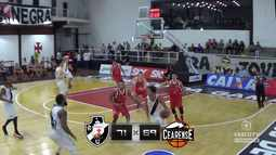 Vasco TV - Lances de Vasco x Basquete Cearense no NBB
