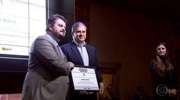 Globo Minas e G1 MG ganham prêmio de melhores veículos