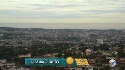 Previsão de pancadas de chuvas nesta sexta-feira (2) na região de Ribeirão Preto