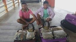 Polícia apreende 22 kg de drogas dentro de barco em rio no AM