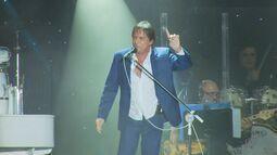 Veja como foi o show de Roberto Carlos em Poços de Caldas (MG)