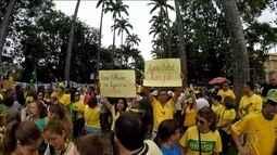Manifestações a favor da Lava Jato acontecem em diversas cidades brasileiras