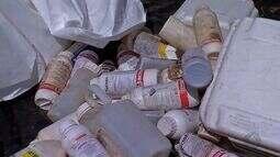 Produtores rurais participam de coleta de embalagens de agrotóxicos