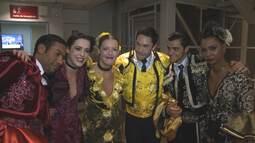 Felipe, Rainer e Sophia festejam final do Dança!