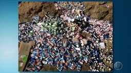 Grande quantidade de remédios é descartada em estrada carroçável de Apodi