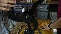 Ventilador e arcondicionado precisam passar por manutenção