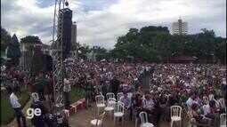 População de Chapecó comparece à missa de 7º dia dos membros da Chapecoense