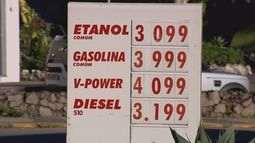 Preços da gasolina e do diesel são reajustados em postos do Sul de Minas