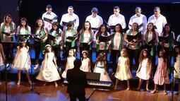 Confira como foi a primeira noite do Canto Coral da TV Anhanguera