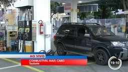 Motoristas já sentem aumento anunciado pela Petrobras nas bombas
