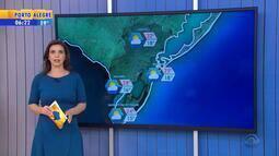 Tempo: Sul do RS segue sem previsão de chuva nesta quinta-feira (8)