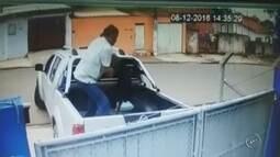 Homem para caminhonete e joga cão por portão de ONG em Itapetininga