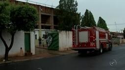 Alojamento do Tanabi pega fogo durante jogo-treino com Votuporanguense