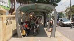 Motoristas de ônibus paralisam atividades em Itapetininga