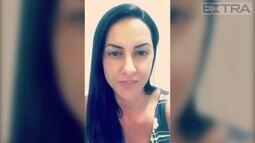 Graciele Lacerda comemora o crescimento do bumbum: 'Duro igual a pedra'