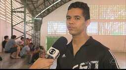Lucas Melo comemora convocação para a seleção brasileira de futsal