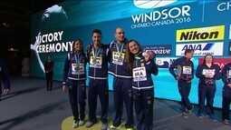 Brasil termina o Mundial de Piscina Curta com três medalhas