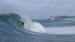 Brasileiros ficam fora do pódio na última etapa do circuito mundial de surfe