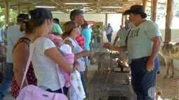 Tradicional feira do rolo de Santa Isabel ganha espaço mais adequado