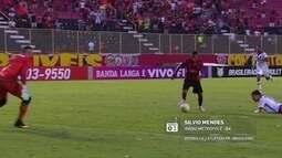 Sílvio Mendes narra o gol do Marinho no Redação AM