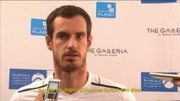 Número 1 do mundo, Andy Murray faz balanço do ano