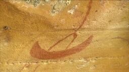 Pinturas rupestres em Alagoas mostram a relação entre homem e rio há milhares de anos