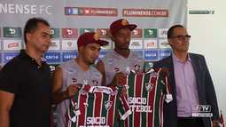 Flu TV - Reapresentação do time do Fluminense no CT do Clube