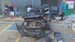 Detento do semiaberto atropela ciclista e capota carro em Ariquemes