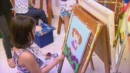 Parte 2: artista plástica incetiva criatividade de crianças em Manaus