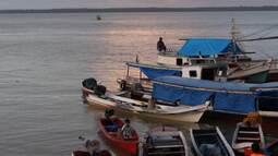 Quadro 'Câmera da Mão' mostra a relação dos moradores de Belém com o rio