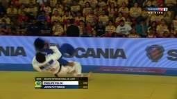 Phelipe Pelim vence colombiano por Ippon no Desafio Internacional de Judô 2017