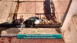 Polícia investiga vandalismo em casa de prefeito interino de Nova Laranjeiras