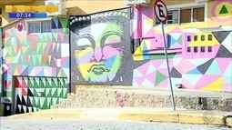 Comunidade no Sul da Ilha reduz criminalidade através da arte