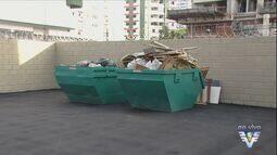 Praia Grande montou ecopontos para a coleta de lixo
