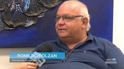 Azul, Preto e Branco - Bate-papo com presidente Romildo Bolzan