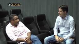 TV Galo - O treinador Roger Machado conhece o CT do Clube