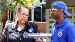 TV Bahêa - O Bahia passa a ajudar a Fundação José Carvalho, entidade voltada para educação